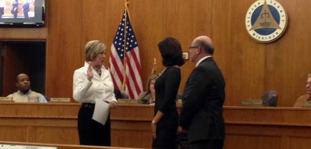 Kathy-Sue Dunn appointed to Calhoun County Board of Commissioners